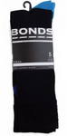 Bonds Mens Bamboo 5 Pack Crew Socks Black