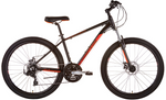 Malvern Star Mens Hurricane 27-2 Bike Large Black/Orange INSTORE PICKUP ONLY