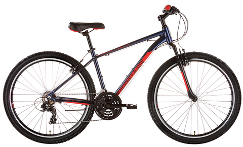 Malvern Star Mens Hurricane 27-1 Bike Medium Blue/Red INSTORE PICKUP ONLY