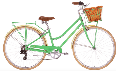Malvern Star Ladies Wisp A1 Bike Green Medium INSTORE PICKUP ONLY