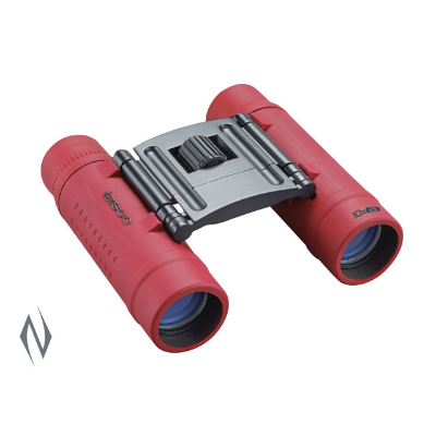 Tasco Essentials 10x25 Roof Prism Red Binoculars