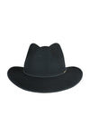 Morgan & Taylor Rose Fedora Black