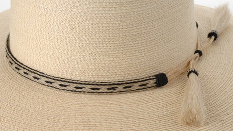 Sunbody 5 Strand Horse Hair Hat Band