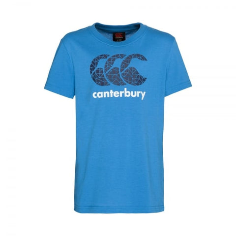 Canterbury Boys CCC Shadow T shirt Azzuri Blue