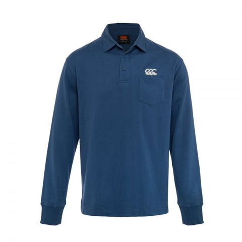 Canterbury Mens Solid Dye Rugby jersey Tru Navy