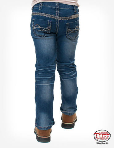 Cowgirl Tuff Girls Dakota Jeans