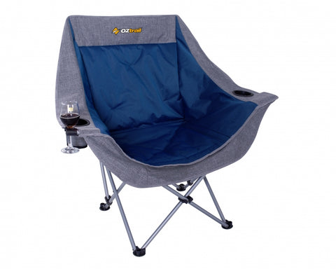 Oztrail Moon Single Chair with Arms