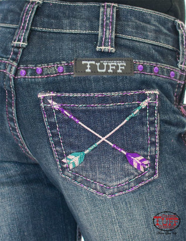 Cowgirl Tuff Girls Pathmaker Purple jeans