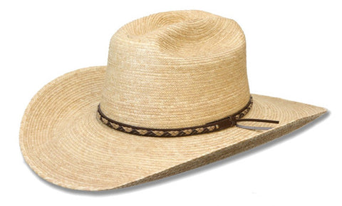 "Sunbody Cattleman Oak coloured 4""brim"