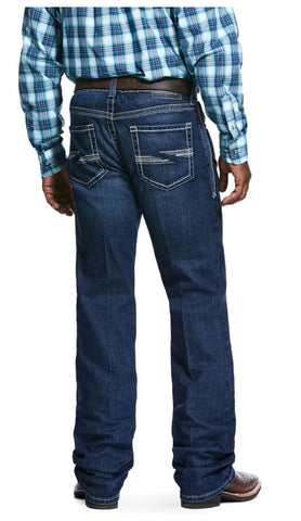 Ariat Mens Huron M4 Boot Cut Denali Jeans