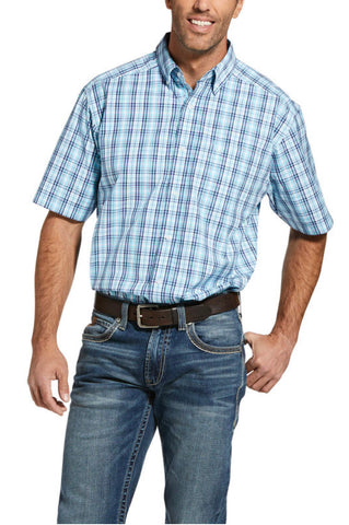 Ariat Mens Pro Ichabod Classic Short Sleeved Shirt