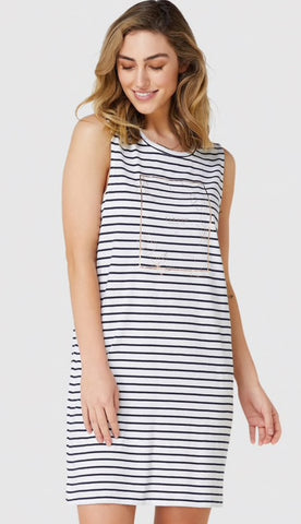 Elwood Ladies Leaves Tank Dress
