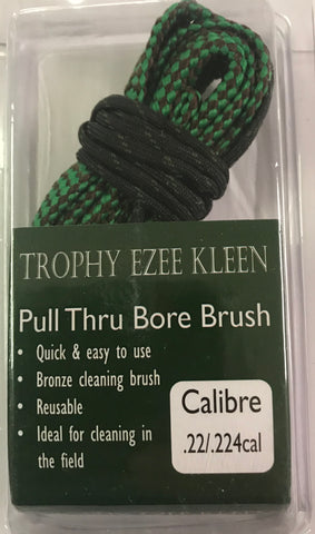 Trophy EZEE Kleen Pull Thru Bore Brush