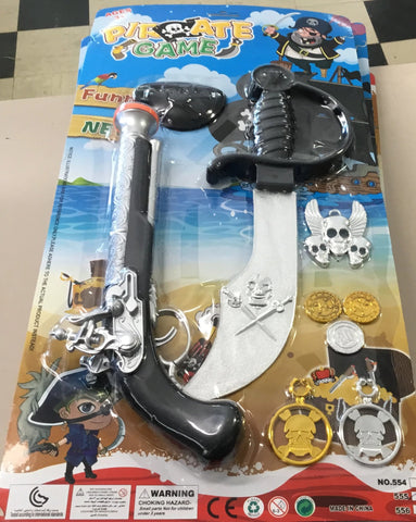 Pirate Weapons and accessories