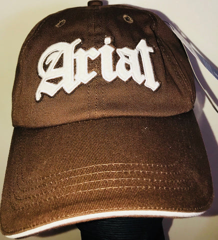 Ariat Brown Logo Cap