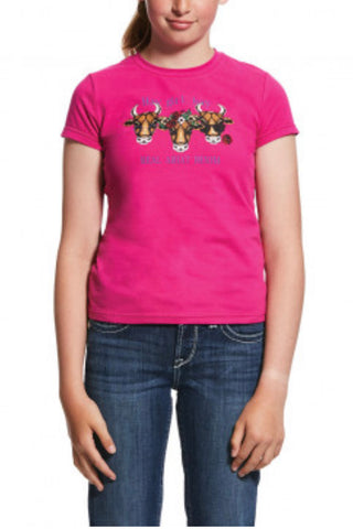Ariat Girls Real Hay Girl Tee