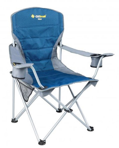 Oztrail Deluxe Arm Chair Note - Please specify desired colour in Special Instructions on the Cart Page.