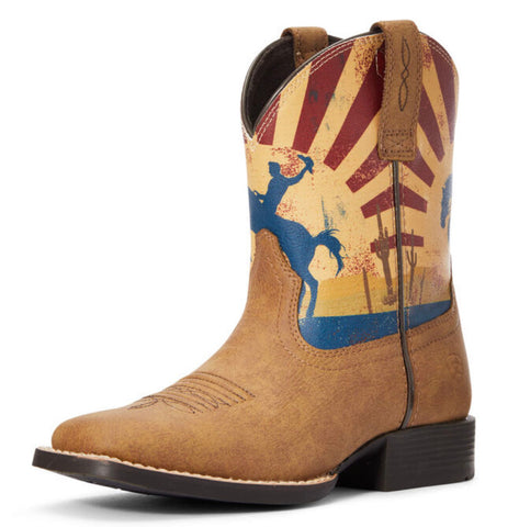 Ariat Boys Dinero Tan Sunset Scene