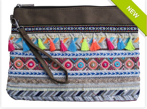 Lavida Beaded Boho Purse