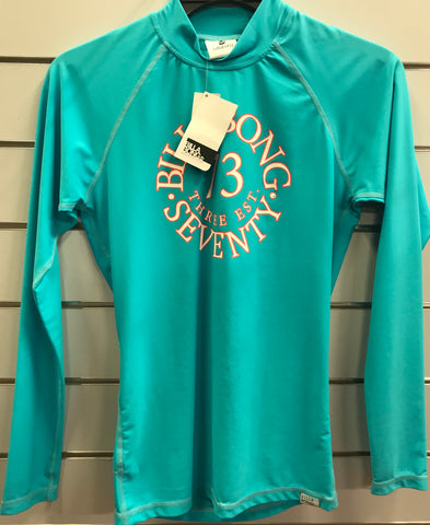 Billabong Ladies Oceanfront L/S Rash Vest size 10