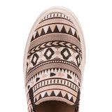 Ariat Ladies Unbridled Harlan Black Rose Tribal Print Shoes