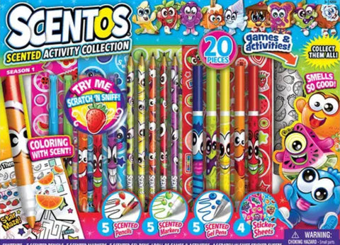 Scentos Scented Activity Collection 20Pieces
