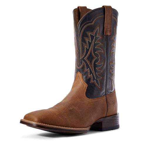 Ariat Mens Ryder Ultra Status Brown / Black Boots