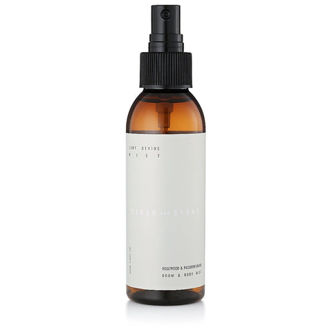 Cedar & Stone Lady Divine  - Rosewood And Passion Flower Mist