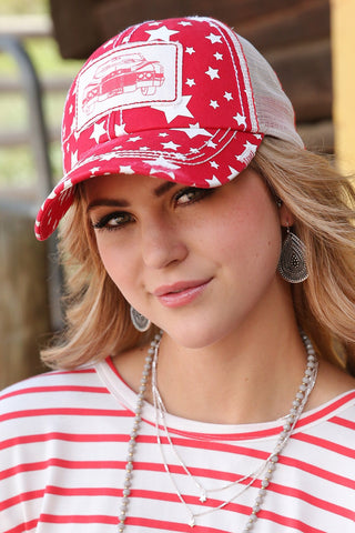 Cruel Girl Red Fender Cap