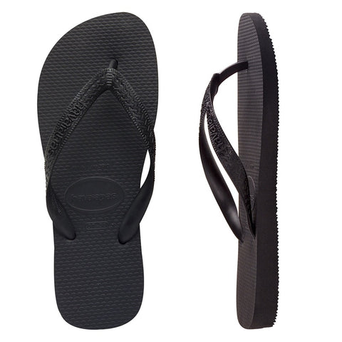 Havaianas Mens Top Thongs Preto