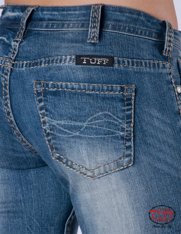 Cowgirl Tuff Ladies Tuff Barbed Wire Jeans
