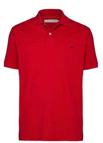 RM Williams Rod Polo Red