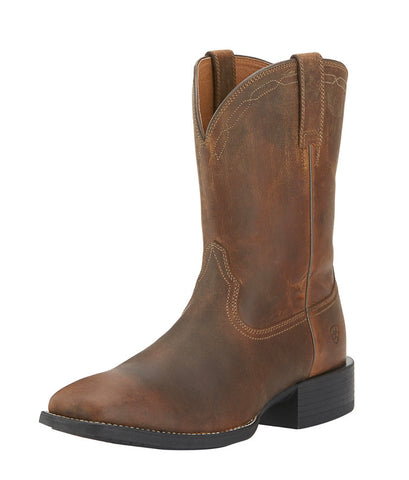Ariat Mens Heriatge Roper Square Toe Boots