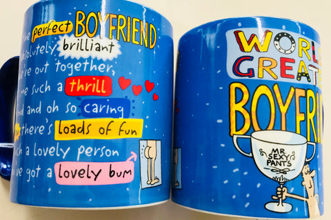 Worlds Greatest Boyfriend mug