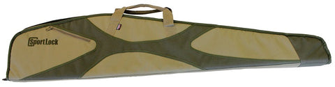"Birchwood Casey 44"" khaki scoped rifle case"
