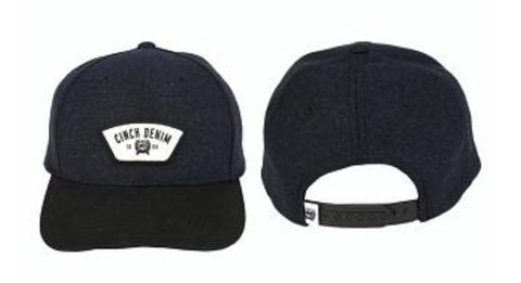 Cinch Raj Black Cap