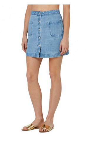 Elwood Ladies Farrell Denim Skirt