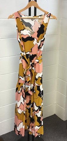 Boho Ladies Multi Maxi Dress
