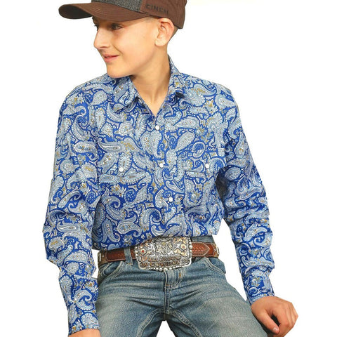 Cinch Boys Quill Shirt