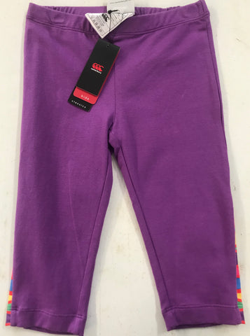 Canterbury Girls Carnival 3/4 legging Dewberry