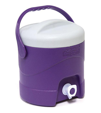 KeepCold Picnic Water Cooler 4 Litre Purple