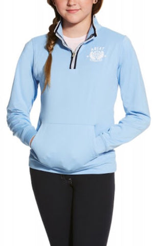 Ariat Girls Tek Ballad Half Zip Jumper