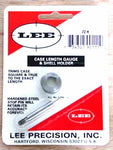 Lee case length gauge & shell holder