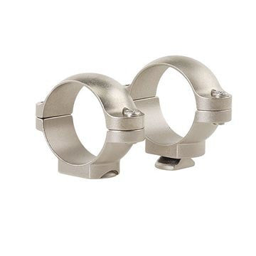 "Leupold STD Rings 1"" Matte or Silver, Low Med or High"