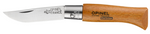 Opinel Carbone folding pocket knife