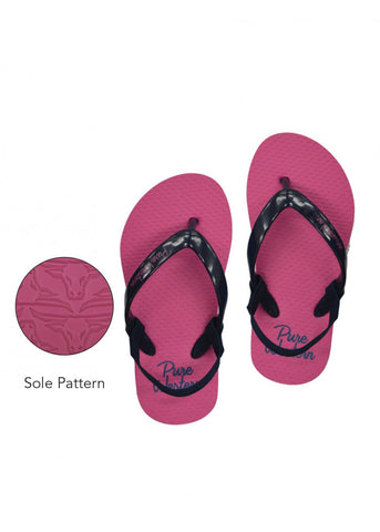 Pure Western Cody Toddler Pink Thongs