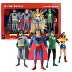 "Justice League 5.5"" bendable figures"