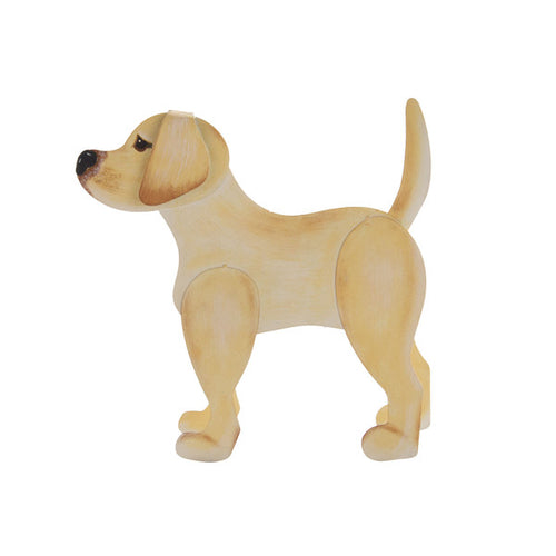 Round Top- Yellow Lab
