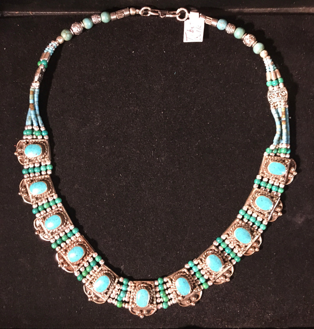 Jewelry-Tibetan collar necklace