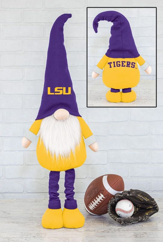 LSU- gnome fan stretch leg